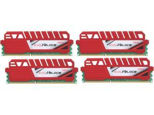 GeIL EVO Veloce Series 32GB (4 x 8GB) 240-Pin DDR3 SDRAM DDR3 2400 (PC3 19200) Desktop Memory Model GEV332GB2400C11AQC