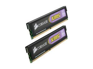 CORSAIR XMS2 2GB (2 x 1GB) 240-Pin DDR2 SDRAM DDR2 800 (PC2 6400) Dual Channel Kit Desktop Memory Model TWIN2X2048-6400C4