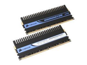 CORSAIR XMS2 DOMINATOR 2GB (2 x 1GB) 240-Pin DDR2 SDRAM DDR2 800 (PC2 6400) Dual Channel Kit Desktop Memory Model TWIN2X2048-6400C4D