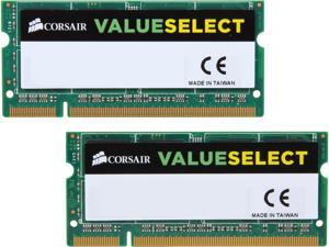 CORSAIR 4GB (2 x 2GB) 200-Pin DDR2 SO-DIMM DDR2 667 (PC2 5300) Dual Channel Kit Laptop Memory Model VS4GSDSKIT667D2