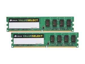 CORSAIR 4GB (2 x 2GB) 240-Pin DDR2 SDRAM DDR2 667 (PC2 5300) Dual Channel Kit Desktop Memory Model VS4GBKIT667D2 G