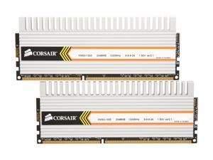 CORSAIR XMS3 DHX 4GB (2 x 2GB) 240-Pin DDR3 SDRAM DDR3 1333 (PC3 10666) Dual Channel Kit Desktop Memory Model TW3X4G1333C9DHX