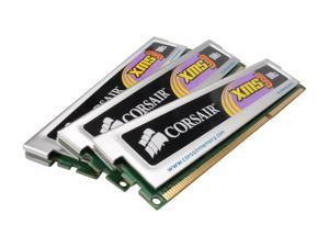 CORSAIR XMS3 3GB (3 x 1GB) 240-Pin DDR3 SDRAM DDR3 1333 (PC3 10666) Triple Channel Kit Desktop Memory Model TR3X3G1333C9