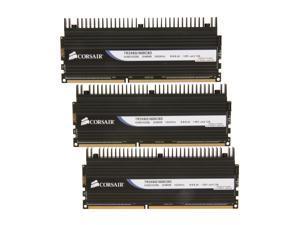 CORSAIR DOMINATOR 6GB (3 x 2GB) 240-Pin DDR3 SDRAM DDR3 1600 (PC3 12800) Triple Channel Kit Desktop Memory Model TR3X6G1600C8D