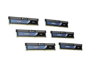 CORSAIR XMS3 12GB (6 x 2GB) 240-Pin DDR3 SDRAM DDR3 1600 (PC3 12800) Desktop Memory Model HX3X12G1600C9 G