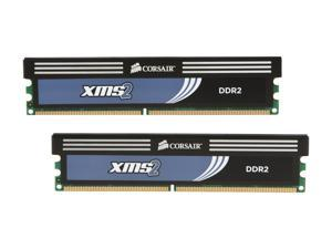 CORSAIR XMS2 4GB (2 x 2GB) 240-Pin DDR2 SDRAM DDR2 1066 (PC2 8500) Desktop Memory Model TWIN2X4096-8500C5C G