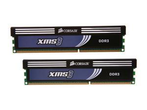CORSAIR XMS3 2GB (2 x 1GB) 240-Pin DDR3 SDRAM DDR3 1333 (PC3 10666) Desktop Memory