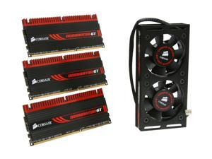 CORSAIR DOMINATOR GT 6GB (3 x 2GB) 240-Pin DDR3 SDRAM DDR3 1866 (PC3 15000) Desktop Memory Model CMG6GX3M3A1866C7
