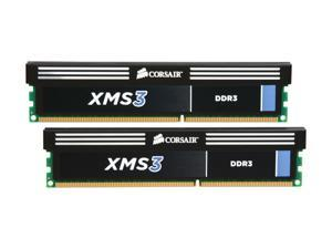 CORSAIR XMS3 8GB (2 x 4GB) 240-Pin DDR3 SDRAM DDR3 2000 (PC3 16000) Desktop Memory