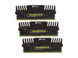 CORSAIR Vengeance 6GB (3 x 2GB) 240-Pin DDR3 SDRAM DDR3 1600 Desktop Memory Model CMZ6GX3M3A1600C9