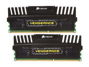 CORSAIR Vengeance 4GB (2 x 2GB) 240-Pin DDR3 SDRAM DDR3 1600 (PC3 12800) Desktop Memory Model CMZ4GX3M2A1600C9