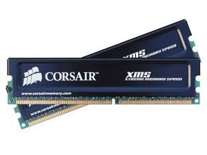 CORSAIR XMS 1GB (2 x 512MB) 184-Pin DDR SDRAM DDR 400 (PC 3200) Dual Channel Kit Desktop Memory