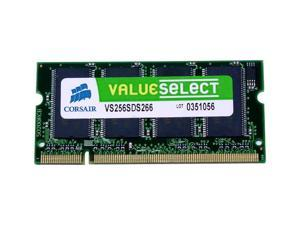 CORSAIR ValueSelect 256MB 200-Pin DDR SO-DIMM DDR 266 (PC 2100) Laptop Memory