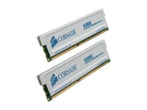 CORSAIR XMS 2GB (2 x 1GB) 184-Pin DDR SDRAM DDR 400 (PC 3200) Dual Channel Kit Desktop Memory Model TWINX2048-3200C2PT
