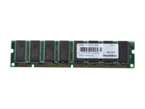 Mushkin Enhanced Essentials PC100 128MB 168-Pin  SDRAM System Memory