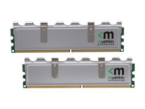 Mushkin Enhanced Silverline 2GB (2 x 1GB) 240-Pin DDR2 800 (PC2 6400) Dual Channel Kit Memory