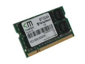 Mushkin Enhanced 1GB 200-Pin DDR2 SO-DIMM DDR2 667 (PC2 5300) Memory for Apple Notebook Model 971504A