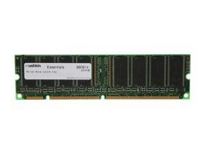 Mushkin Enhanced Essentials 256MB 168-Pin SDRAM PC 133 Desktop Memory Model 990614