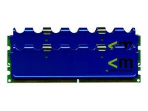 Mushkin Enhanced 2GB (2 x 1GB) 184-Pin DDR SDRAM Dual Channel Kit Desktop Memory