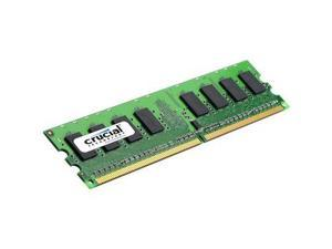 Crucial 1GB 240-Pin DDR2 SDRAM DDR2 667 (PC2 5300) ECC Unbuffered Server Memory Model CT12872AA667