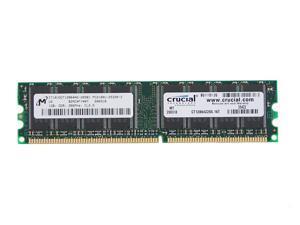 Crucial 1GB 184-Pin DDR SDRAM DDR 266 (PC 2100) System Memory Model CT12864Z265.16T - OEM