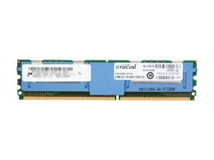 Crucial 512MB 240-Pin DDR2 FB-DIMM ECC Fully Buffered DDR2 667 (PC2 5300) Server Memory Model CT6472AF667