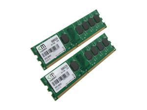 Mushkin Enhanced Essentials 2GB (2 x 1GB) DDR2 800 (PC2 6400) Dual Channel Kit Desktop Memory