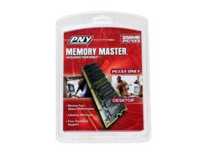 PNY 256MB 168-Pin SDRAM PC 133 Desktop Memory