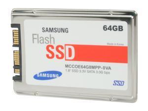 "SAMSUNG MCCOE64G8MPP-0VA00 1.8"" SLC Internal Solid State Drive (SSD)"