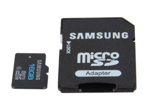 SAMSUNG 16GB microSDHC Flash Card