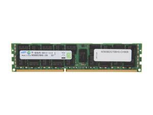 SAMSUNG 16GB 240-Pin DDR3 SDRAM ECC Registered DDR3 1333 Server Memory Model M393B2G70BH0-CH908