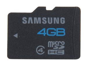 SAMSUNG 4GB microSDHC Flash Card Model MB-MS4GB/AM