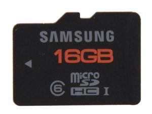 SAMSUNG Plus 16GB microSDHC Flash Card Model MB-MPAGB/AM