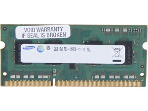 SAMSUNG 2GB 204-Pin DDR3 SO-DIMM DDR3 1600 (PC3 12800) Laptop Memory Model M471B5773CHS-CK0