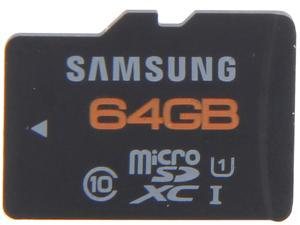 SAMSUNG 64GB microSDXC Ultra High Speed (UHS-1)  Class 10 Flash Card