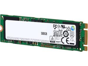 SAMSUNG 850 EVO M.2 500GB SATA III 3-D Vertical Internal SSD Single Unit Version MZ-N5E500BW