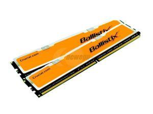 Crucial Ballistix 2GB (2 x 1GB) 184-Pin DDR SDRAM DDR 500 (PC 4000) Dual Channel Kit Desktop Memory