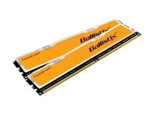Crucial 2GB (2 x 1GB) DDR2 1066 (PC2 8500) Dual Channel Kit Memory