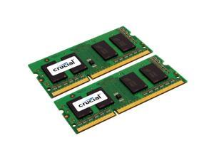 Crucial 4GB (2 x 2GB) 204-Pin DDR3 SO-DIMM DDR3 1066 (PC3 8500) Dual Channel Kit Laptop Memory