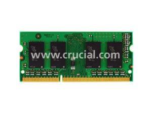 Crucial 1GB 204-Pin DDR3 SO-DIMM DDR3 1066 (PC3 8500) Laptop Memory