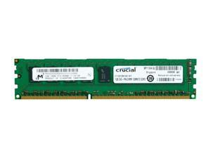 Crucial 1GB 240-Pin DDR3 SDRAM ECC Unbuffered DDR3 1066 (PC3 8500) Server Memory Model CT12872BA1067