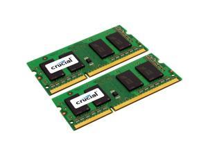 Crucial 4GB (2 x 2GB) 204-Pin DDR3 SO-DIMM DDR3 1333 (PC3 10600) Laptop Memory Model CT2KIT25664BC1339
