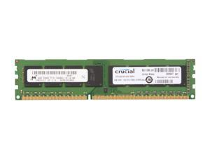 Crucial 4GB 240-Pin DDR3 SDRAM DDR3 1333 (PC3 10600) Desktop Memory Model CT51264BA1339