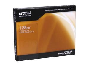 "Crucial RealSSD C300 CTFDDAC128MAG-1G1 2.5"" MLC Internal Solid State Drive (SSD)"