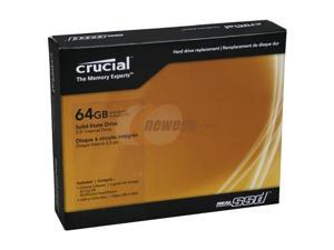 "Crucial RealSSD C300 CTFDDAC064MAG-1G1CCA 2.5"" 64GB SATA III MLC Internal Solid State Drive (SSD)"