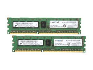 Crucial 8GB (2 x 4GB) 240-Pin DDR3 SDRAM Server Memory Model CT2KIT51272BA1339