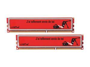Crucial Ballistix 8GB (2 x 4GB) 240-Pin DDR3 SDRAM DDR3 1600 (PC3 12800) Desktop Memory Model BL2KIT51264RF160A