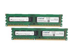 Crucial 16GB (2 x 8GB) 240-Pin DDR3 SDRAM DDR3 1333 (PC3 10600) Desktop Memory Model CT2KIT102464BA1339