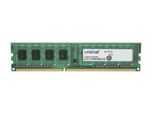Crucial 2GB 240-Pin DDR3 SDRAM DDR3 1600 (PC3 12800) Desktop Memory