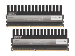 Crucial Ballistix 8GB (2 x 4GB) 240-Pin DDR3 SDRAM DDR3 1866 (PC3 14900) Desktop Memory Model BLE2KIT4G3D1869DE1TX0